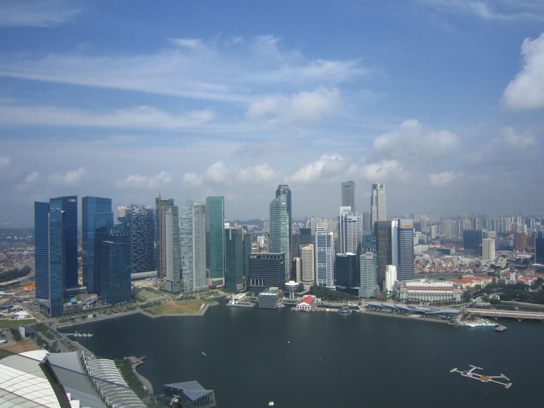 Singapore on business
