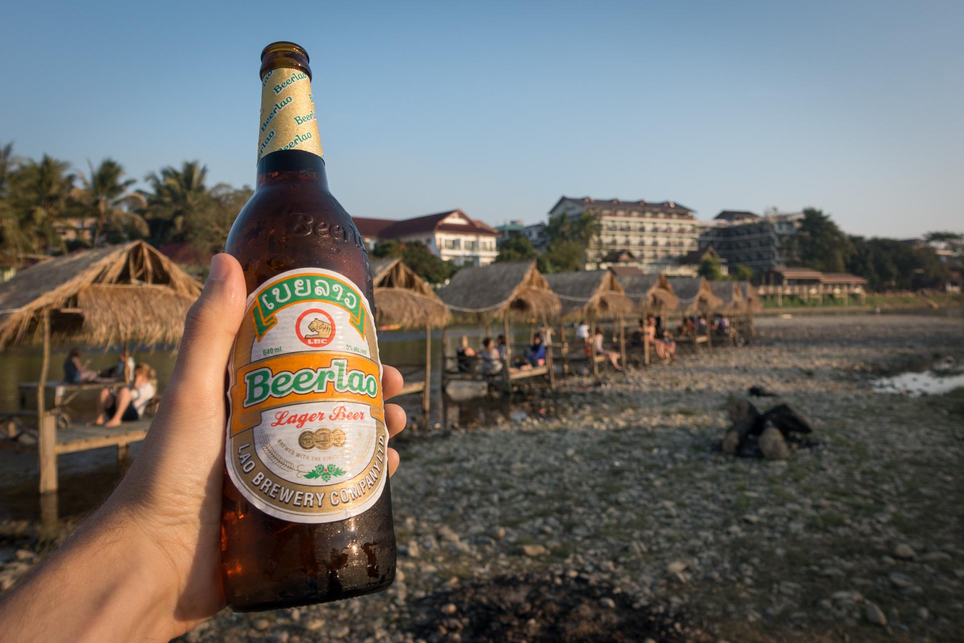 Von Vientiane nach Vang Vieng