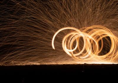 Feuershow auf Koh Lanta