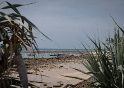 Südliches Ende des Klong Khong Beaches