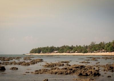 Nördliches Ende des Klong Khong Beaches