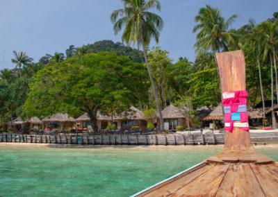 Meer bei Ebbe auf Koh Ngai