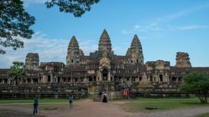 Rückenansicht von Angkor Wat