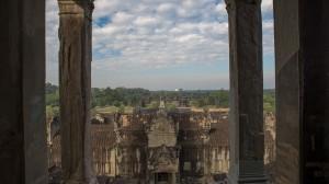Sicht aus den Kuppeln von Ankor Wat