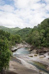 Einer der unzähligen Flüsse
