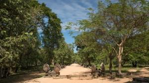 Eingang zur Tempel Anlage