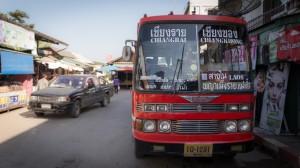 Bus nach Chiang Rai