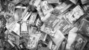 Kassetten in Little India