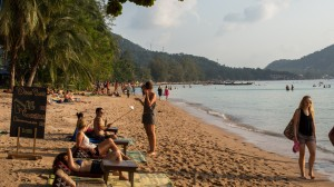 Sairee Beach in Ko Tao