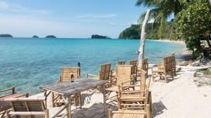 Beach bar at Lonely Beach