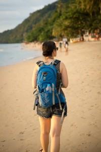 Ayca at White Sand Beach