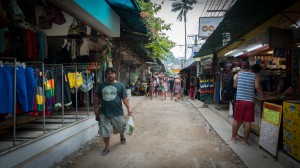 Strasse in Koh Phi Phi Don