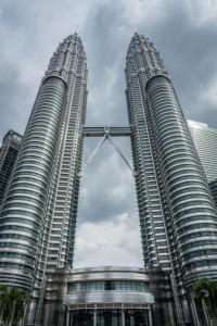 Petronas Towers am Tag