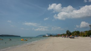 Strand am Tag