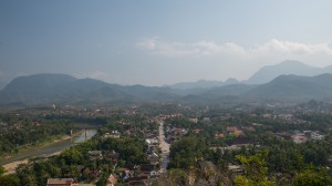 Blick auf Luang Prabang