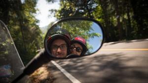 Motorrad Selfie