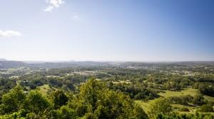 Ausblick über die Sunshine Coast